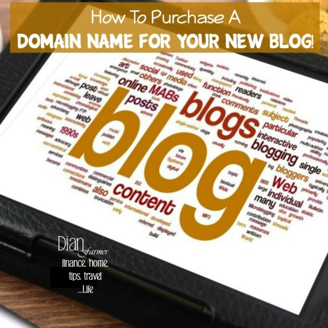 How To Purchase A Domain Name!