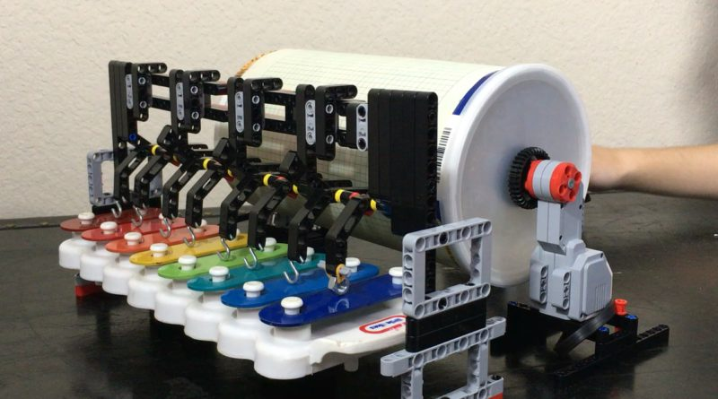 LEGO Mindstorms Music Box   Teach Kids Engineering LEGO Mindstorms EV3 Music Box