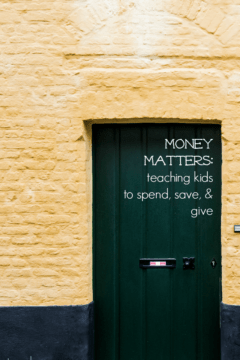 spend save and give jars | money matters | teachmama.com