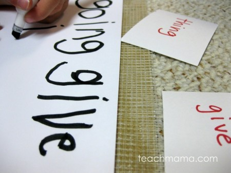 wiggly words: fun ways to get kids to write