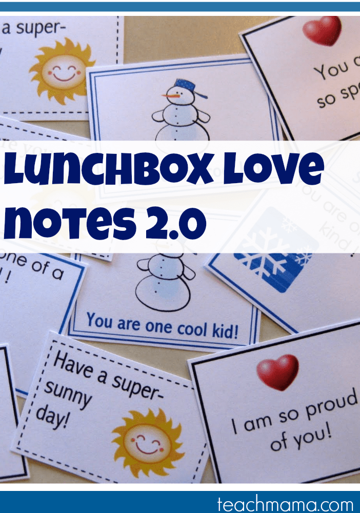 a little more lunchbox love