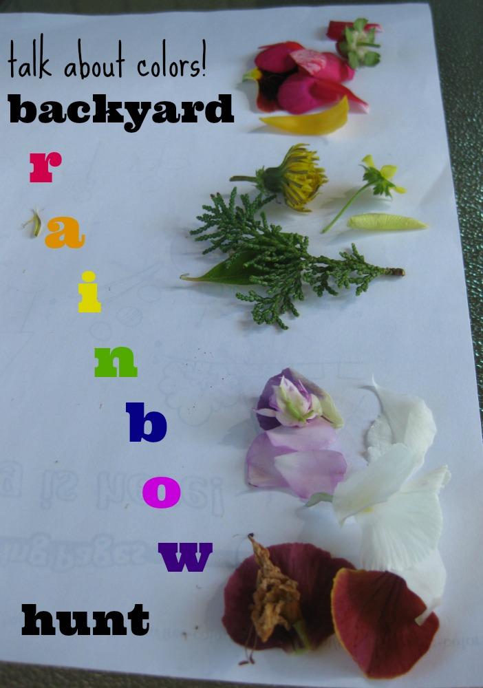 backyard rainbow hunt