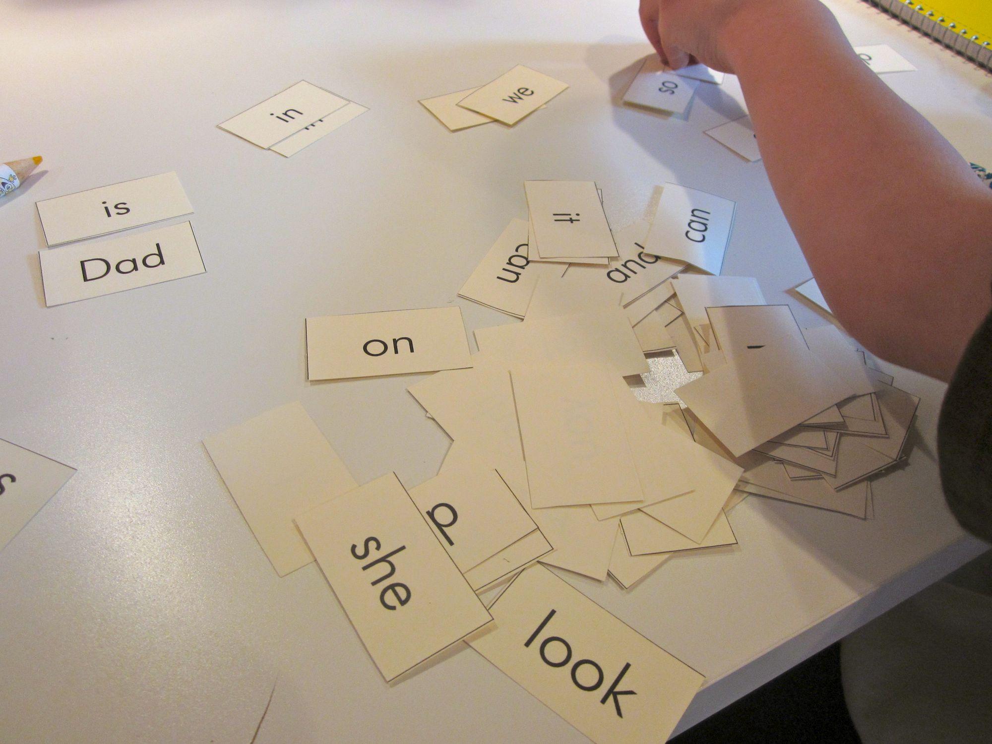 Sight Word Games To Prepare For Kindergarten Go Fish
