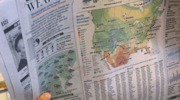 weather math   newspaper for math learning teachmama.com