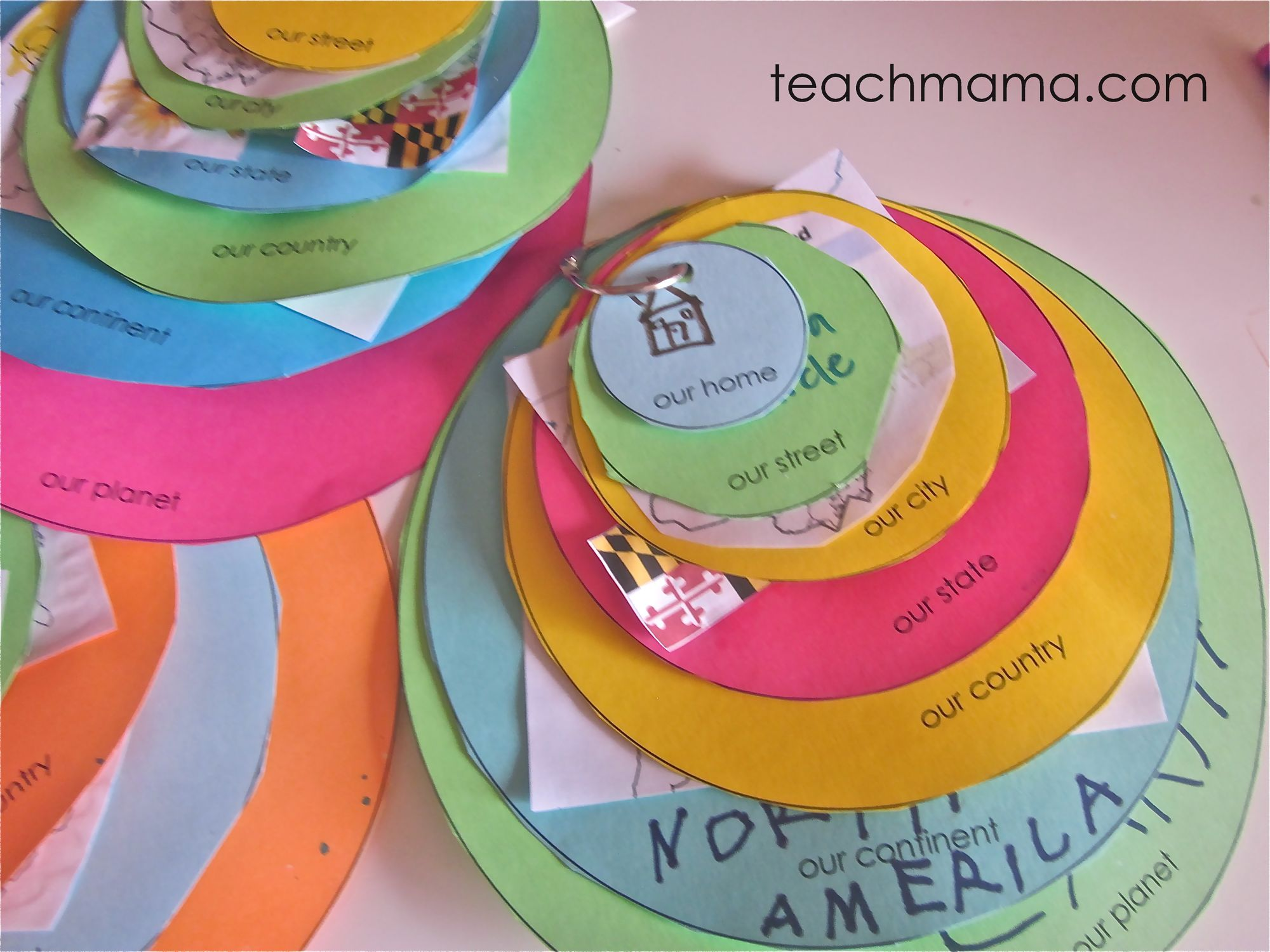 Best Of Teach Mama Countdown 7 Me On The Map