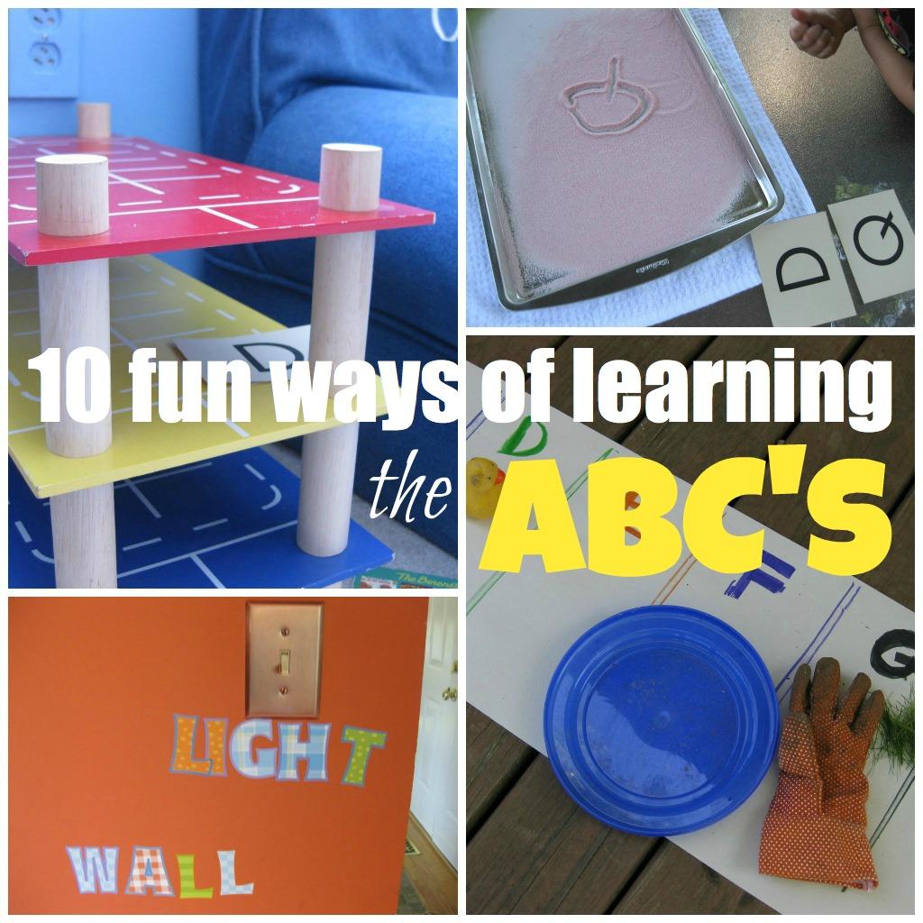 10 Fun Ways Of Helping Kids Learn The Abc S