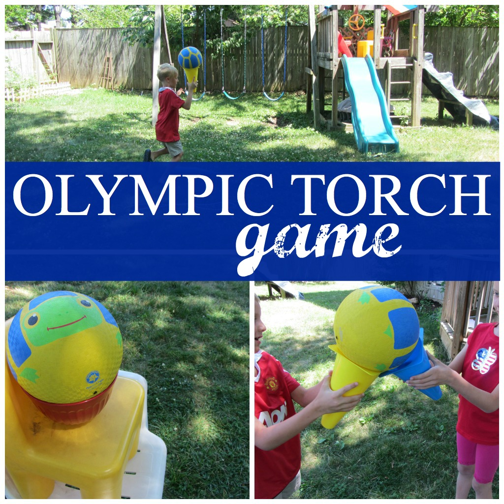 Olympic Torch Game For Kids