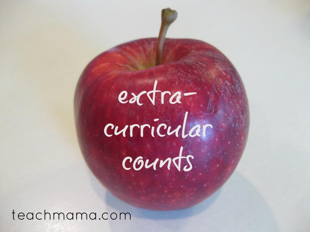 successful school year extra curricular