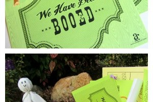 how to boo your friends on a budget