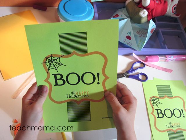 how to boo your friends-- on a budget
