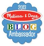 melissa & doug BA badge 2013