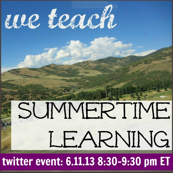 summer learning twitter event: free resources for families