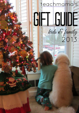 kids and family gift guide from teachmama.com