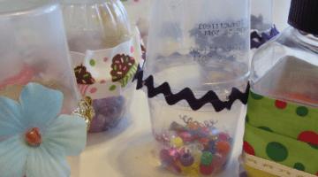 easy homemade new years shakers