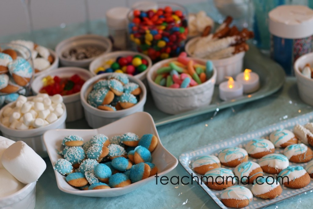 frozen birthday cookies, candy, and more