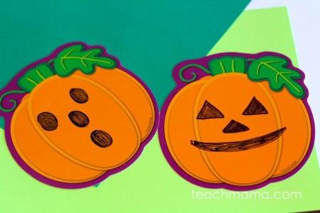 pumpkin match game   teachmama.com