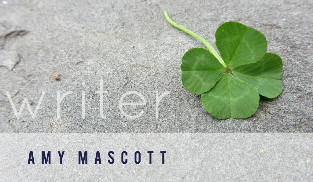 amy mascott | writer