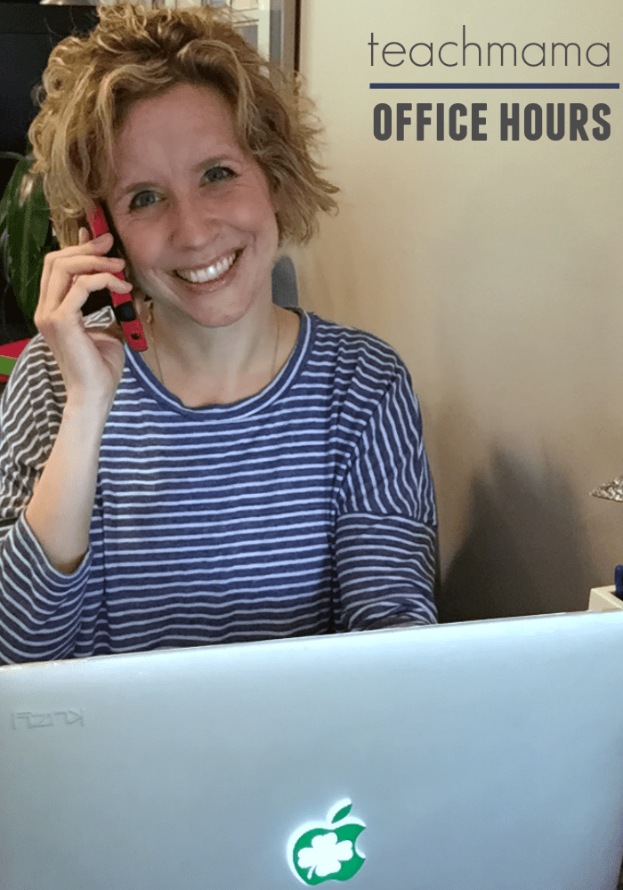 teachmama office hours   chat with amy mascott about reading!