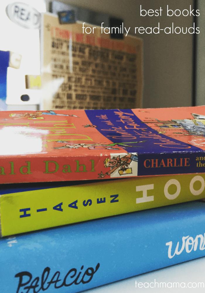 best books for family read-alouds | teachmama.com