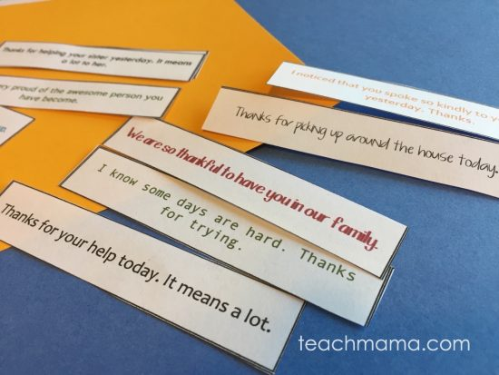pat on the back notes for kids who try their best | teachmama.com