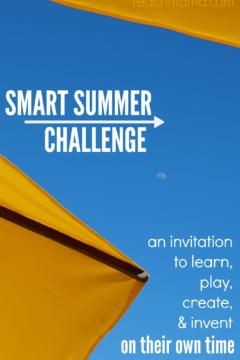 make this summer rock: Smart Summer Challenge 2018!