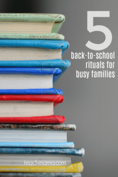 5 fun back-to-school rituals for busy families