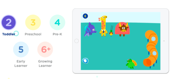HOMER screenshot for toddler learning