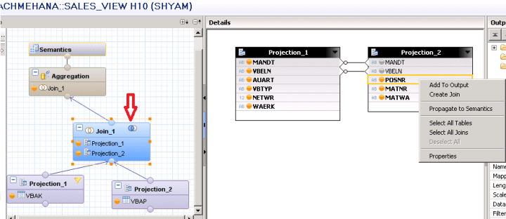 SAP HANA FILTERS FILTER CONSTANT FILTER GRAPHICAL CALCULATION VIEW