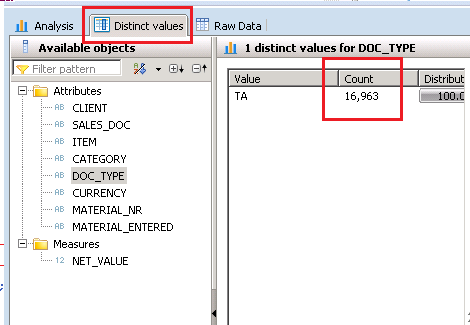 SAP HANA Scripted Calculation View Filters