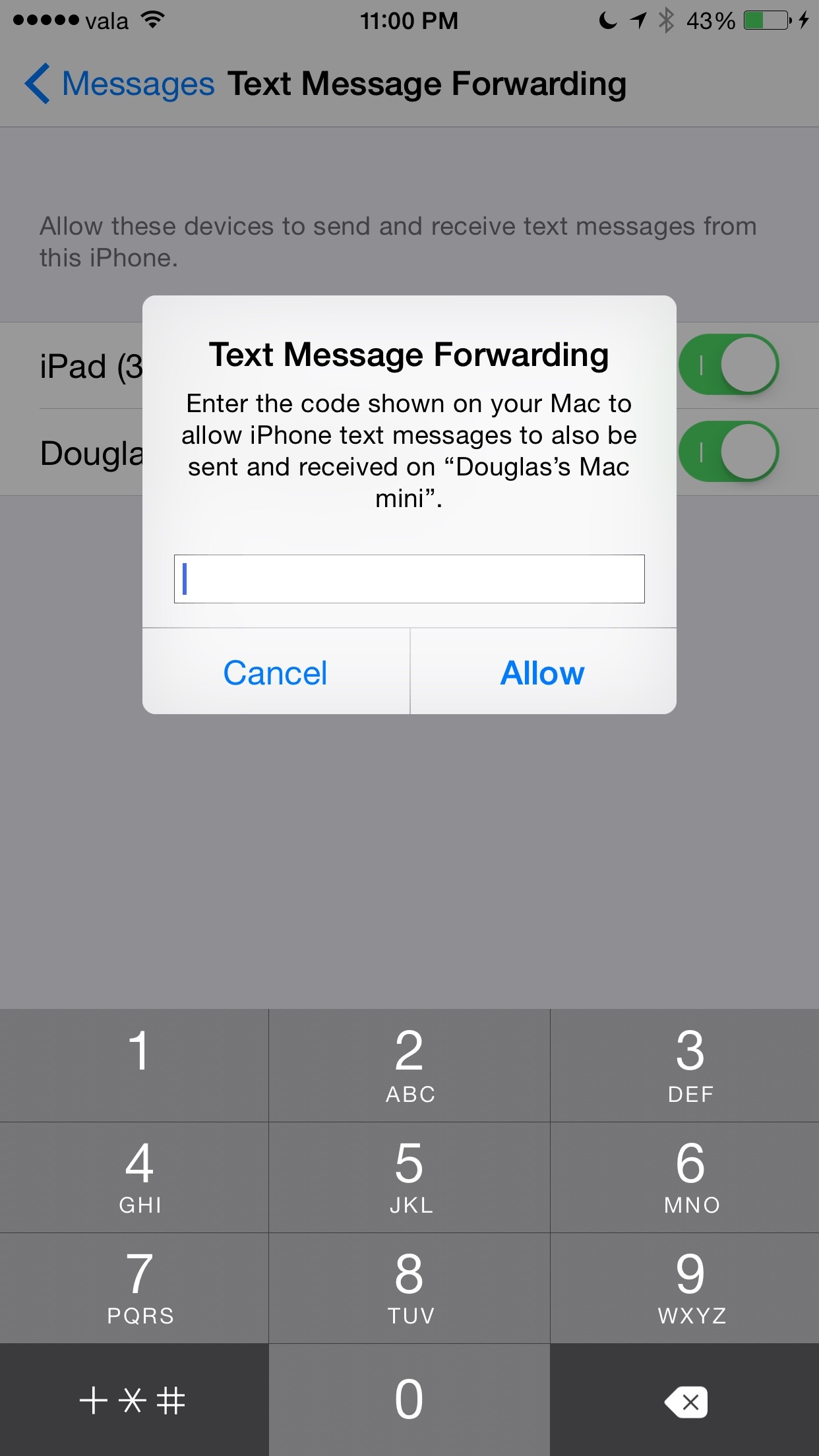 iphone forward text messages how to turn on text message forwarding from iphone to 15273