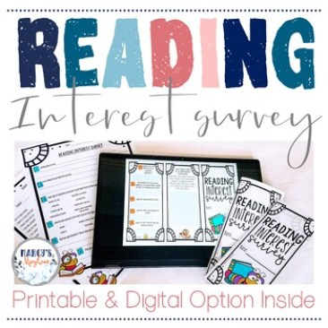 An image for a reading interest survey