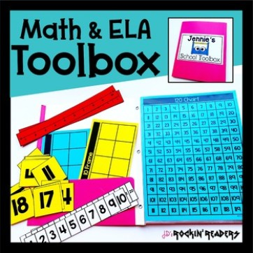 An image for a math and ela toolbox