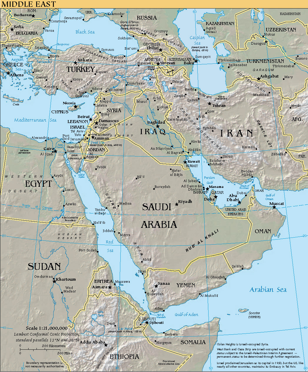 The Middle East As Seen Through Foreign Eyes Twentieth