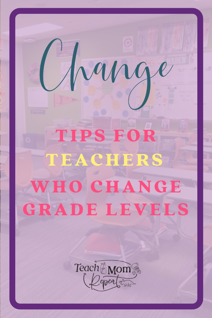 Changing grade levels can be like starting your first year of teaching all over again. But it doesn't have to be difficult. Here is what I learned from changing grade levels and how I made a smooth transition.