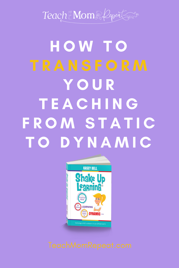 Shake Up Learning is the kind of professional development book that truly transforms your classroom. Find practical ideas that you can implement with this book and all of the resources provided by the author.