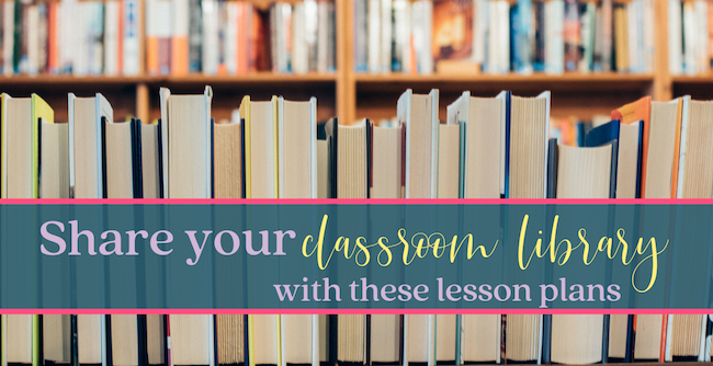 Best Way to Share Your Classroom Library