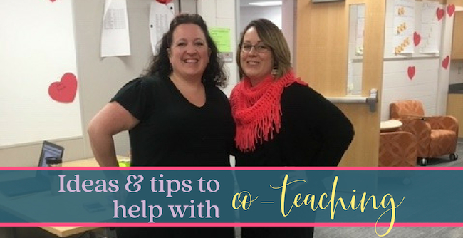 Co-teaching: Some thoughts on making it work.