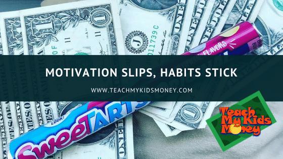 Motivation Slips, Habits Stick