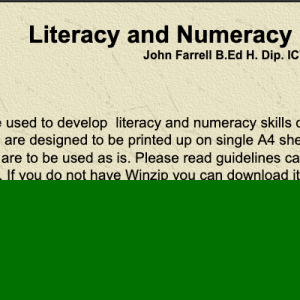 Literacy and Numeracy Resources