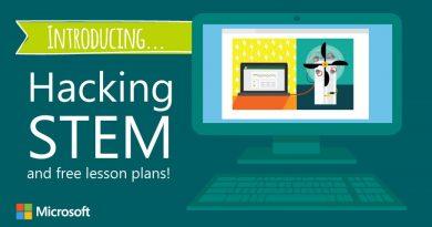 Hacking STEM course logo