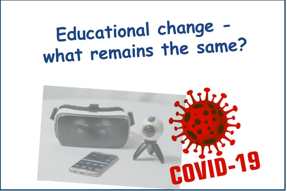 After COVID-19: What remains the same?