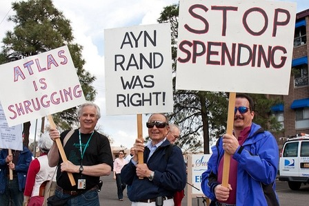 Ayn rand protesters 88Kb