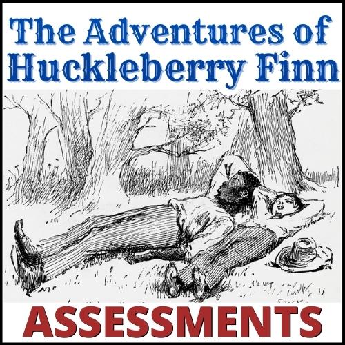 Huck Finn Assessments COVER
