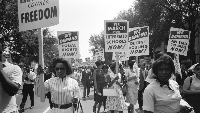 A Raisin in the Sun assignments protest speech