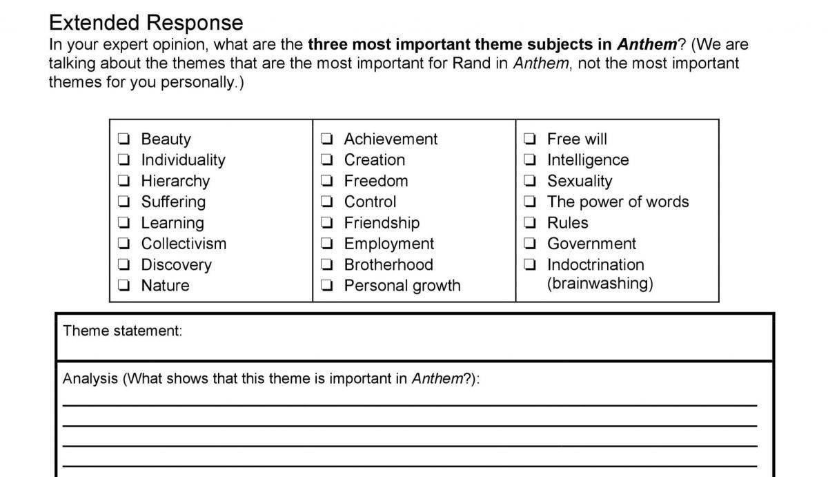 Anthem unit test extended response final