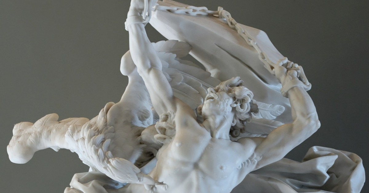 Prometheus statue - small