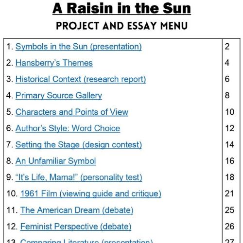 A Raisin in the Sun Project THUMB 1
