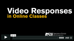 Video Responses in Online Classes