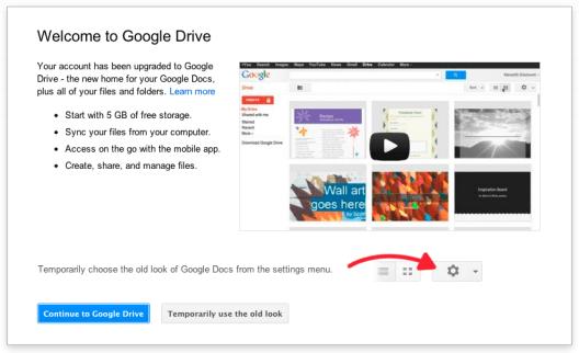 Google Docs is now Google Drive