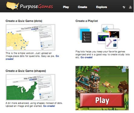 Purpose Games screenshot